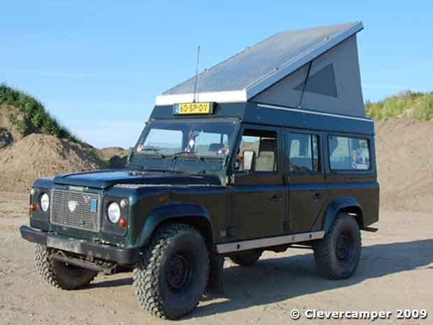 """Klappdach """"Travel & Smart"""" für Land-Rover 110"""